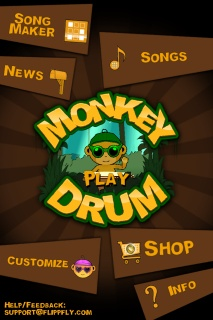 Music with Mrs. Dennis: Monkey Drum Free App. Great app to just jam freestyle on an instrument or even compose complex rhythms and melodies.