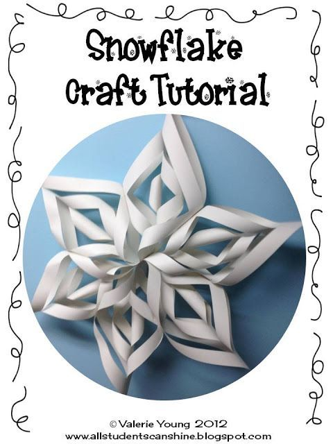 Hi everyone,   I'm here to share a fun craft for this Winter season! I make these every year, not matter what grade I am teaching. It may se...