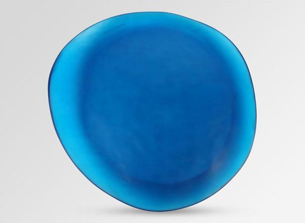 Blue platter - DinosaurDesigns