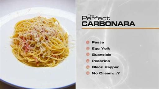 The perfect… Carbonara | MasterChef Australia
