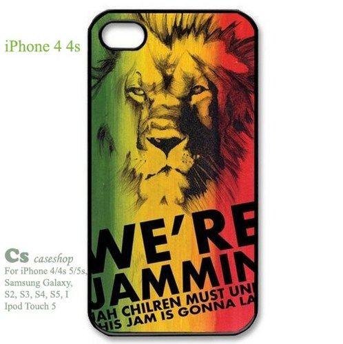 Cool Singer Series Rasta Reggae - Bob Marley Designer for iphone 4 4S  | 5STAR - Accessories on ArtFire