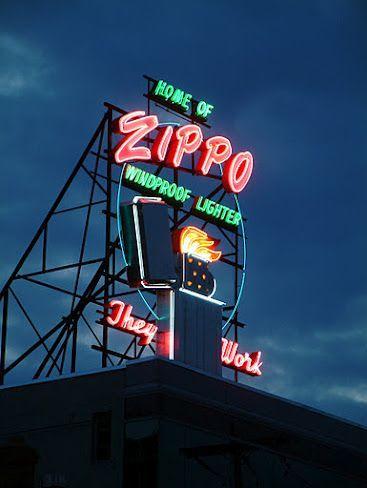 Zippo Lighter Bradford, Pennsylvania