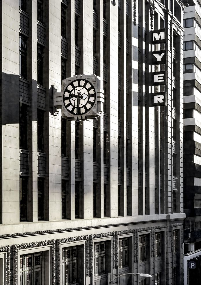 'End Of Time'. Lonsdale Street, Melbourne. © G.C. Campbell.