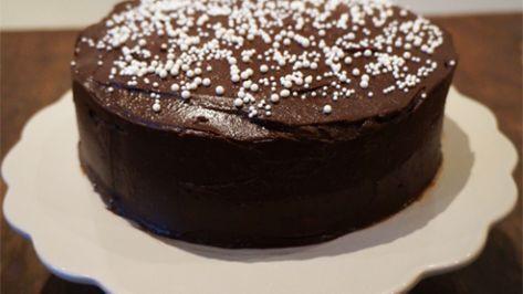 Sjokoladekake med peanøttfrosting – Ida Gran-Jansen