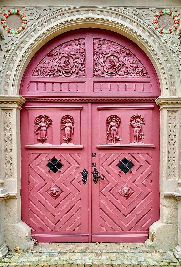 Double Door In 2020 Arched Doors Gorgeous Doors Cool Doors