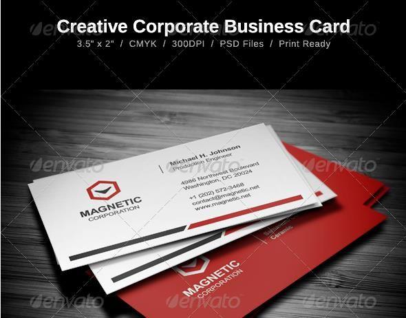 Desain Kartu Nama Perusahaan - Creative Business Card
