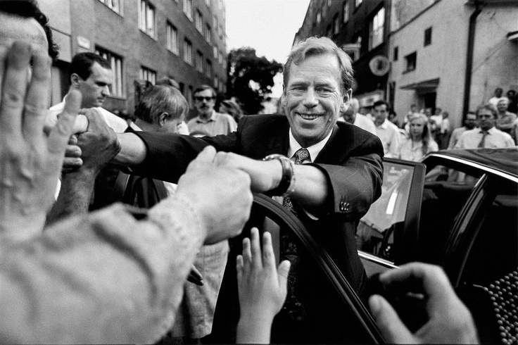 """Václav Havel, the first president of the Czech Republic: """"Hope is definitely not the same thing as optimism. It is not the conviction that something will turn out well, but the certainty that something makes sense, regardless of how it turns out."""""""
