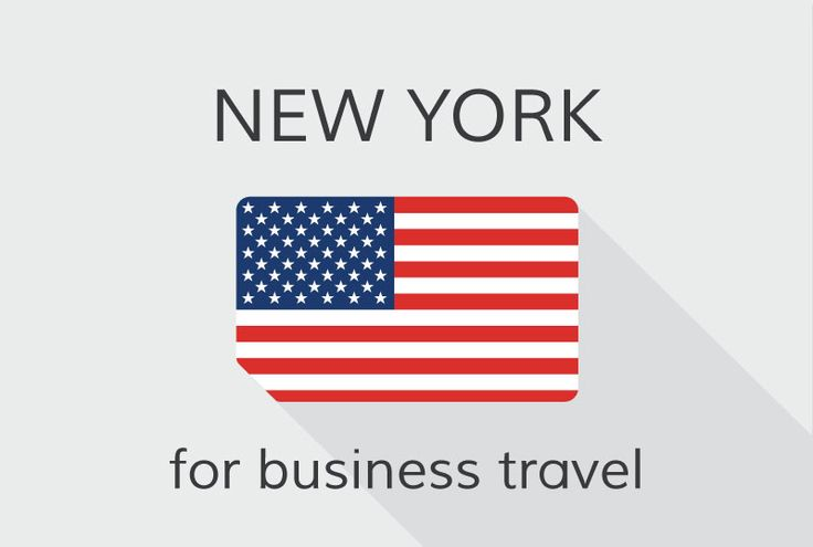 #NewYork and the Wall Street - well known for business and business travel.