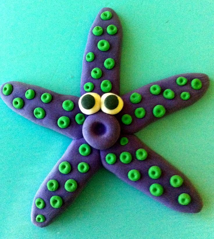 Estrella de plastilina