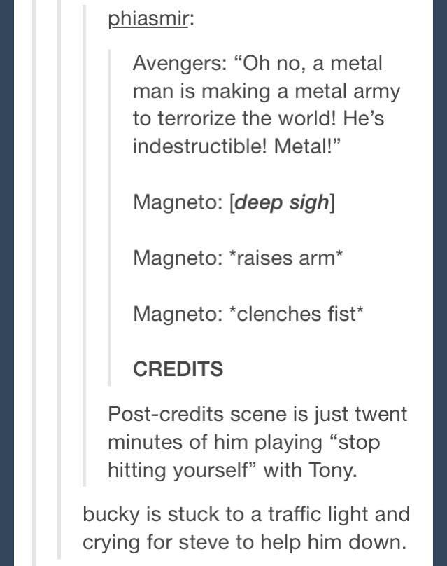 oh my god Bucky...
