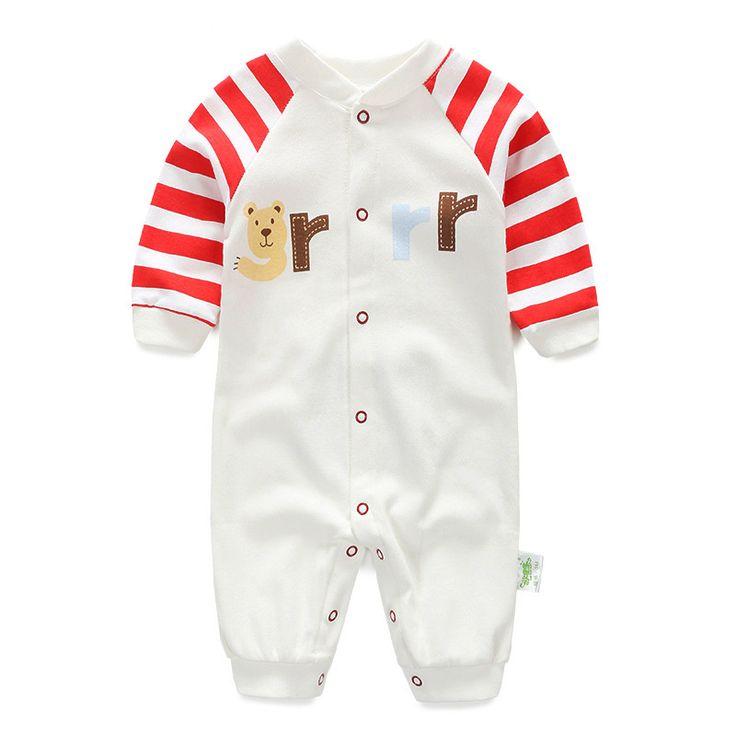 Одежда для младенцев детские комбинезоны новорожденных возчиков мальчик длинный рукав хлопок мальчики девочки осень новорожденный одежда для младенцев Bebe