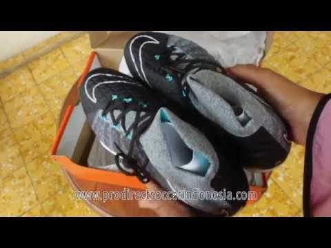 Sepatu Futsal Nike Hypervenomx Proximo II DF TF Wolf Grey 852576 004 Ori...