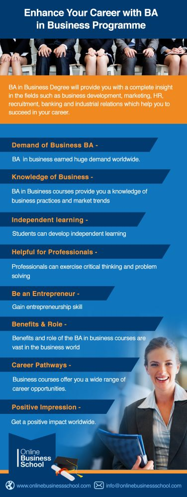 Check out how business courses like #BAinbusiness offers you wide range of career opportunities.