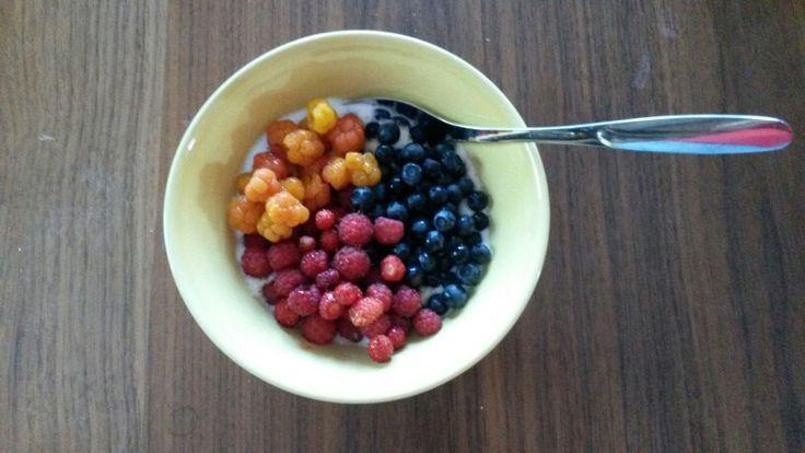 Summer breakfast, so yummy!