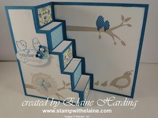 Elaines Creative Musings: Fun Fold Card