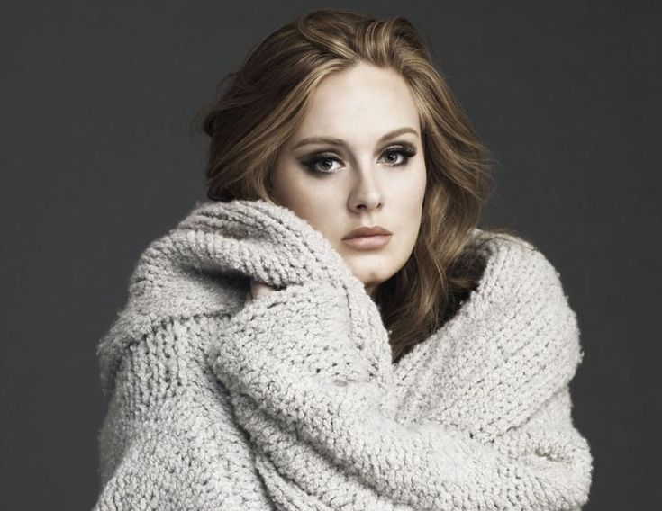 Adele!Sweaters, Girls, Favorite Music, Style, Body Image, Makeup, Songs, Beautiful People, Adele