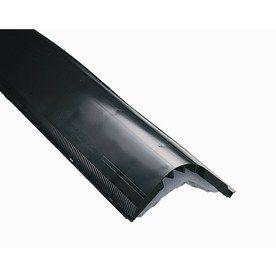 AIR VENT INC. Black Plastic Ridge Vent (Fits Opening: 1.5-in; Actual: 2-in x 12-in x 48-in)