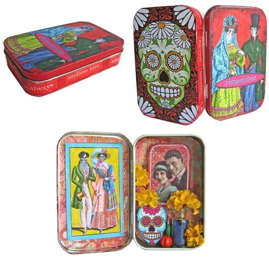 Altoid Altars - Day of the Dead