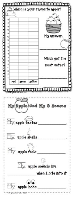 Apple Glyph for Apple Unit - First Grade Blue Skies