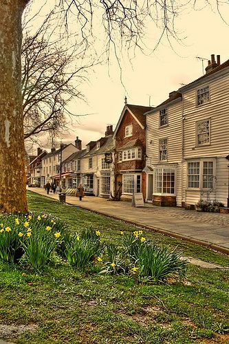 Tenterden. Kent. England, known as The Jewel of the Weald