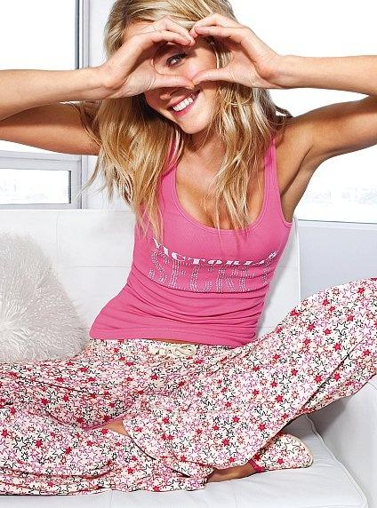 The Pillowtalk Tank Pajama Set from Victoria's Secret