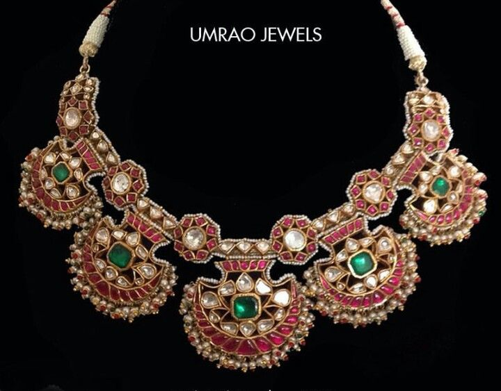 Jewelry & Watches Kundan Polki Meena Padmavat Amrapali Chokar Neckalec Bridal Party Jewelry Elegant And Sturdy Package