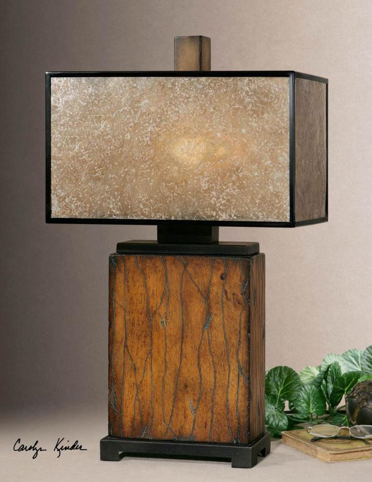 26757 1 SITKA TABLE LAMP Uttermost
