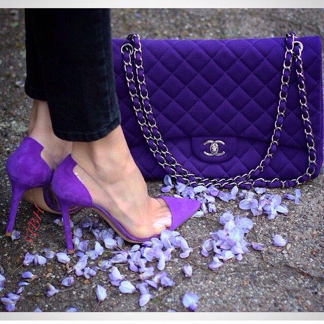 Purple Perfection @stylesandwich