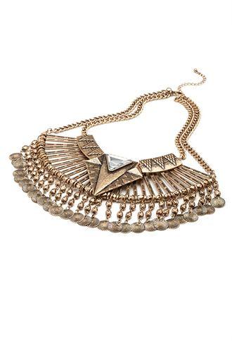 Latz-Halskette - Damen Accessoires, Schmuck und Taschen   online shoppen   Forever 21 - 1000082362 - Forever 21 EU
