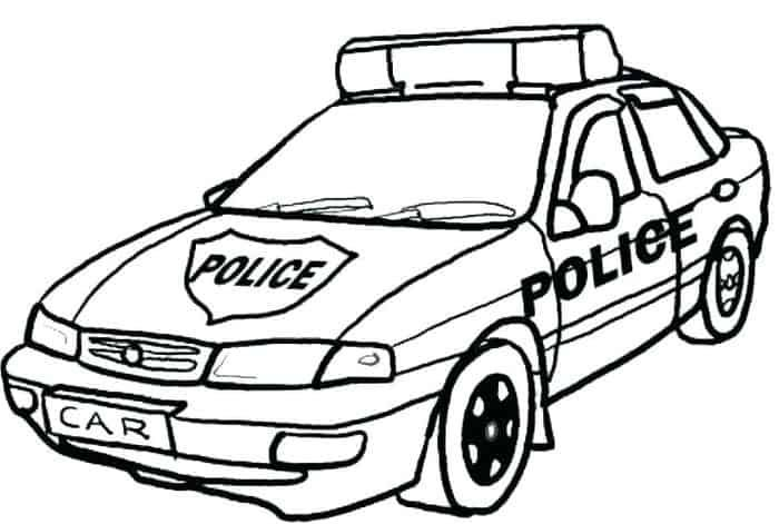 Coloring Pages Police Car In 2020 Cars Coloring Pages Race Car Coloring Pages Police Cars