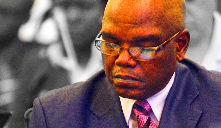 Photo: File photo of Richard Mdluli (Sapa)