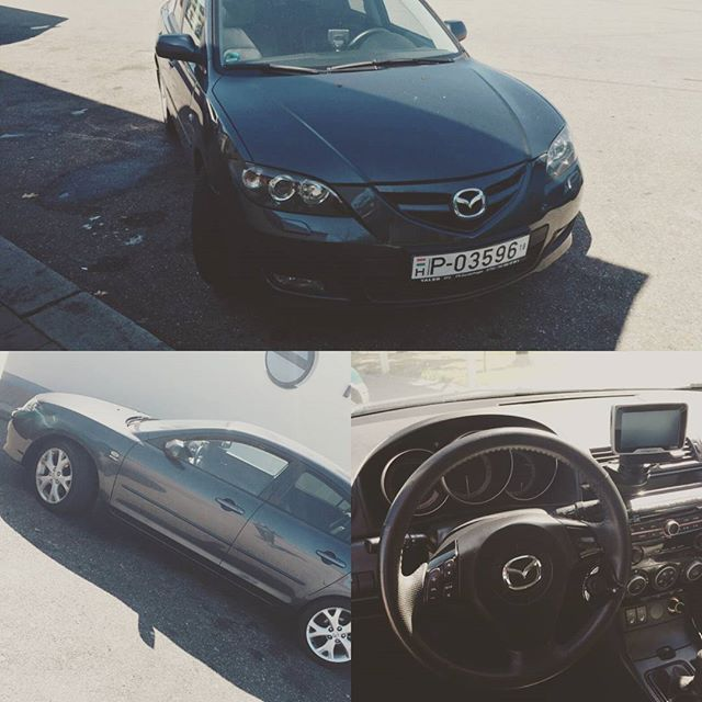 2008 #Mazda #Mazda3 • love the interior