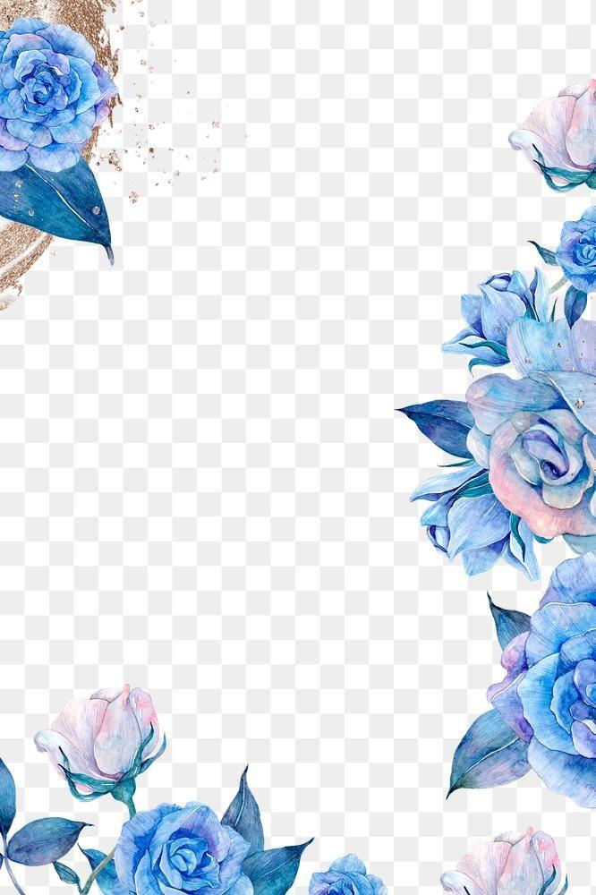 Purple Watercolor Png Flower Frame Illustration Free Image By Rawpixel Com Adj Purple Watercolor Blue Flower Png Free Watercolor Flowers