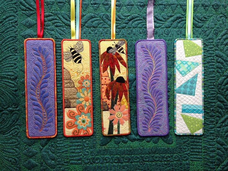 Quilted Bookmarks