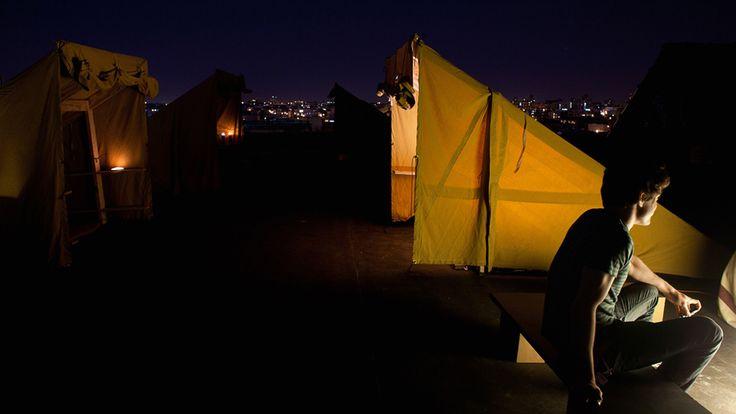Bivouac, New York City  Camping sur le toit d'un immeuble