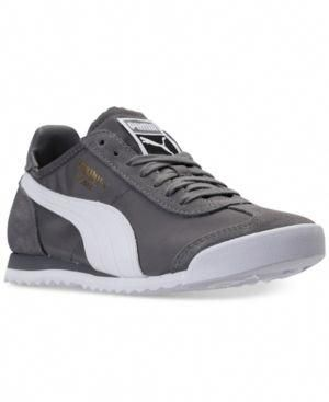 756c88efb7f5 PUMA MEN S ROMA OG NYLON CASUAL SNEAKERS FROM FINISH LINE.  puma  shoes