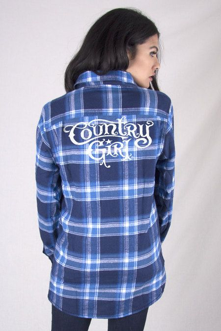 1000 ideas about girls plaid shirt on pinterest plaid for Country girl flannel shirts