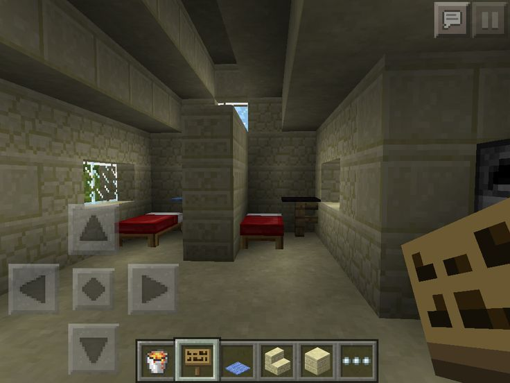 The bedrooms in my house before they were upgraded.