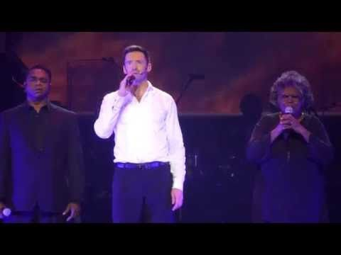 Hugh Jackman - Somewhere Over The Rainbow (Broadway To Oz) 26/11/15 Rod Laver Arena - YouTube