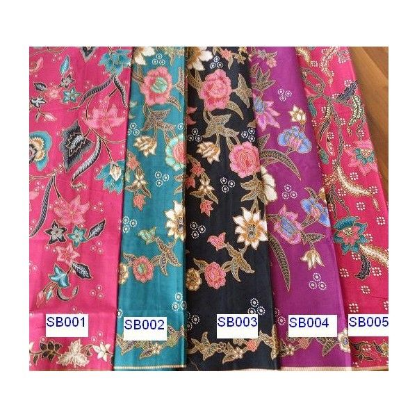 Little Nyonya Kebaya Shop Batik Sarong - Polyvore