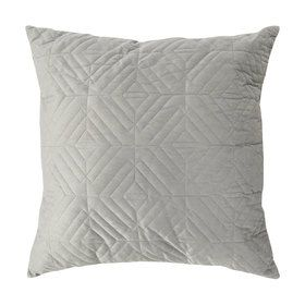 Quilted Cushion - Lead