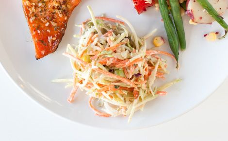 Epicure's Crispy Coleslaw with Honey Mustard Dressing