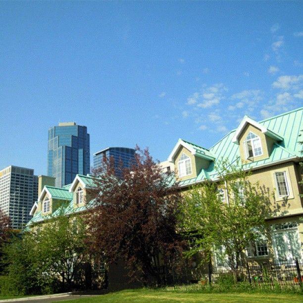 In the Shadow of SkyscrapersPhotos, App, Skyscraper, Alberta, Calgary, Shadows