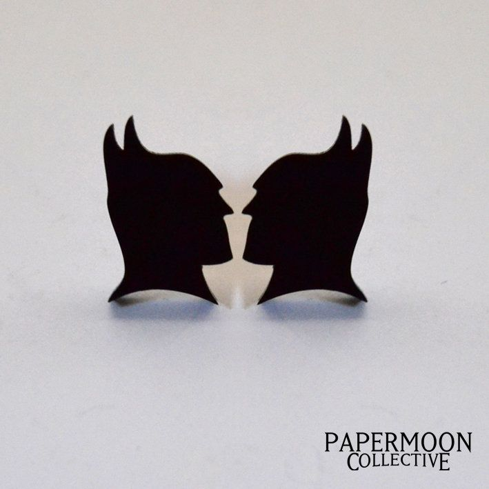 Batman Silhouette by Papermoon Collective for sale on http://hellopretty.co.za