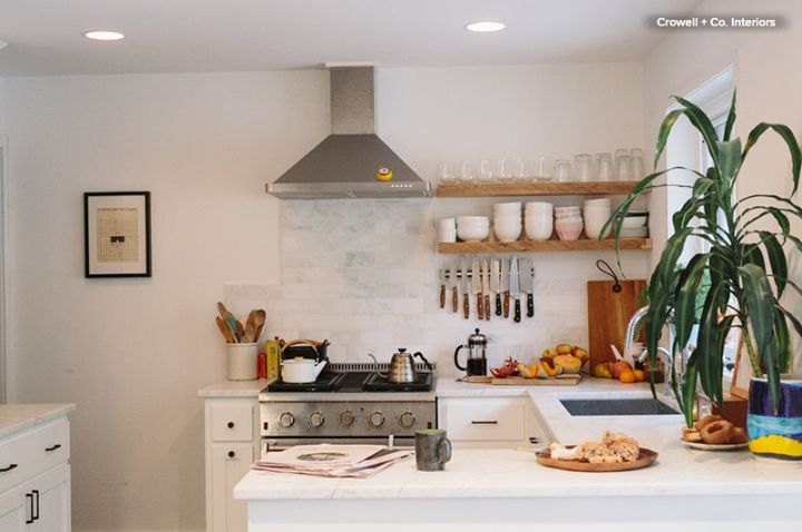 """When I wake up in the morning, I just can't get started until I've had that first, piping hot pot of coffee. Oh, I've tried other enemas."" - Emo Philips  Good morning! Fire up the coffee maker and grab a mug before starting your day.  (Photo from houzz.com)"