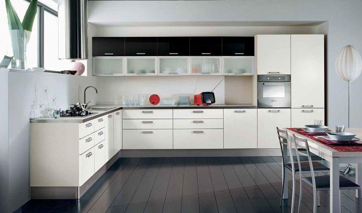 Cocinas muebles con cristal