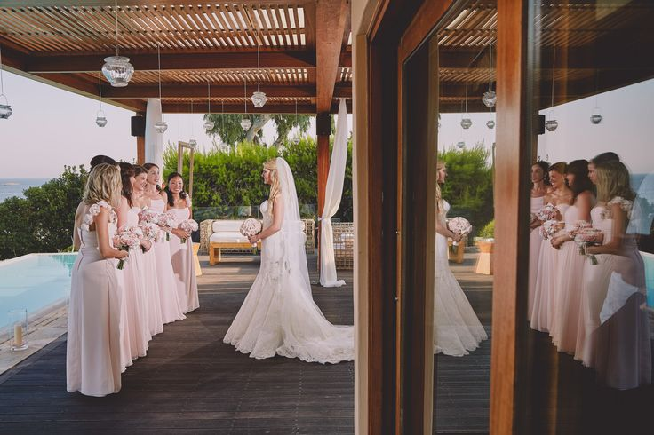 Bridesmaids photos Greece by rChive Visual Storytellers