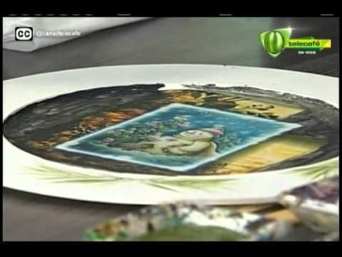 Espazio Ideal plato decorativo 29 de agosto 2014 Telecafé - YouTube