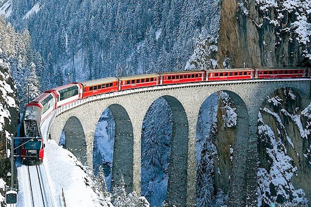 Bernina Express (Chur - Switzerland)