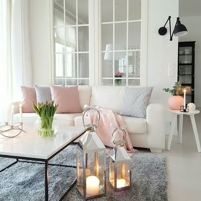 Love The Beautiful Cosy Living Room Of 👌🏻 We Still Have 1 Large Cooee  Ball Vases In Pink Remaining In Stock 💫 . Part 87